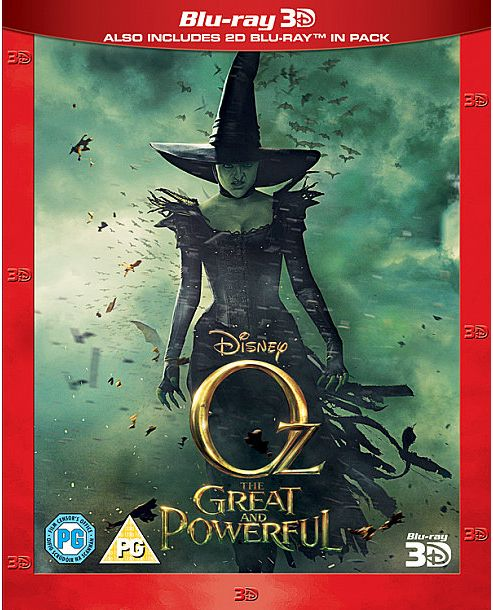 Oz The Great & Powerful (3D Blu-ray)