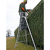 Trade 3m (9.84ft) Platform - Garden Hedge Cutting Tripod Ladder