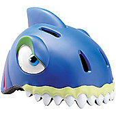 Crazy Stuff Childrens Helmet: Blue Shark S/M.