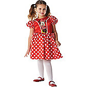 Minnie Mouse Red Classic - Child Costume 5-6 years