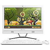 Lenovo C40 21.5-inch All-in-One Desktop PC, Core i3, 8GB RAM, 1TB - White