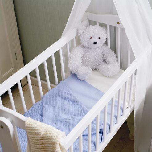 Belledorm Baby Range Duvet Cover Set - White