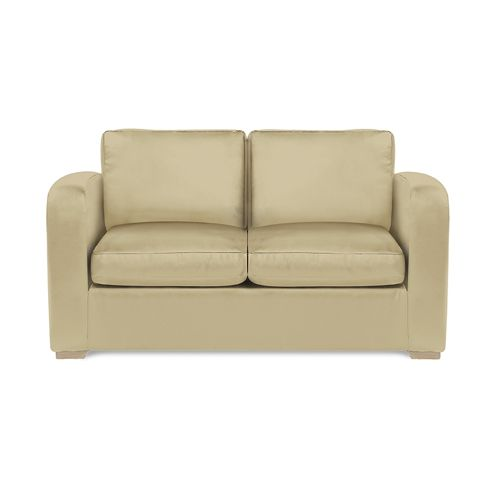 Richmond Sofabed Faux Leather Cream