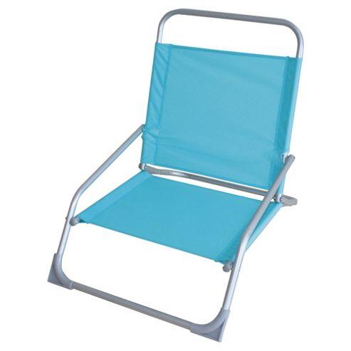 Tesco Beach Folding Chair - Blue