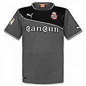 2013-14 Espanyol Puma Away Football Shirt - Grey