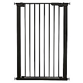 BabyDan Extra Tall Pressure Indicator Baby and Pet Gate Black