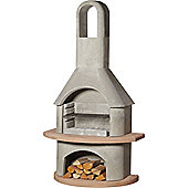 Buschbeck Carmen Masonry Barbecue Outdoor Fireplace