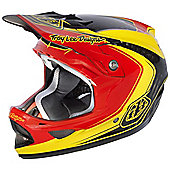 TroyLee D3 Visor Mirage Red/Yellow