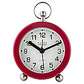 Tesco Fob Top Alarm Clock Red