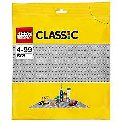 LEGO Classic Grey Baseplate Board 10701