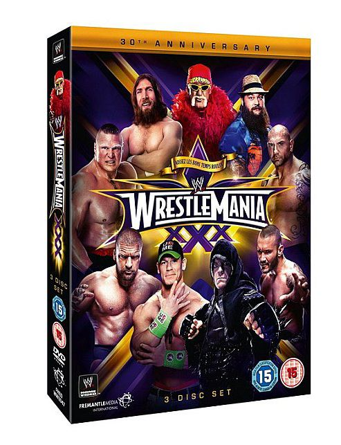 WWE: Wrestlemania 30 (DVD Boxset)