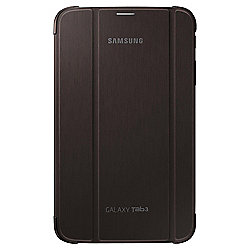 "Samsung Tab 3 Book Case Cover with Stand 8"" - Brown"