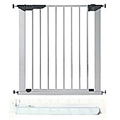 BabyDan Premier True Pressure Gate Silver and No Trip Step Plate