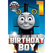 Thomas The Tank Engine Birthday Card - 1 Year