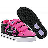 Heelys Speed X2 Light Up Skate Shoes - Size 12 Jnr