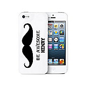 Personalised Moustache iPhone 5 Case Phone Protector