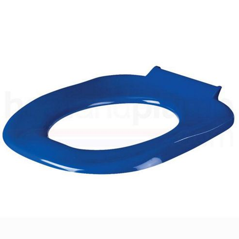 AKW Blue Ergonomic Toilet Seat excluding Cover