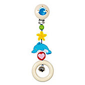 Heimess 735580 Wooden Clip On (Dolphin)