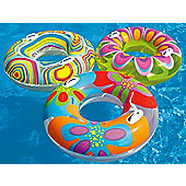 Intex Transparent Tube Swimming Pool Ring with Handles