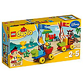 LEGO Duplo Disney Jake And The Neverland Pirates Beach Racing 10539