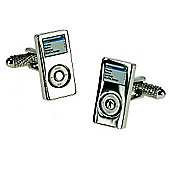 IPOD Style Novelty Themed Cufflinks