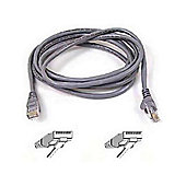 Belkin FastCAT 5e Snagless Patch Cable RJ45M-RJ45M (Grey), 10m