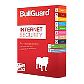 BullGuard Internet Security V14.0 (1 Year - 3 Users) Mini Tuck-in Box Retail (Single Pack)