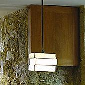 Arturo Alvarez Encaixe 1 Light Suspension Lamp - Sand