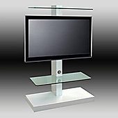 OMB Jolly Tower 2 TV Stand - White