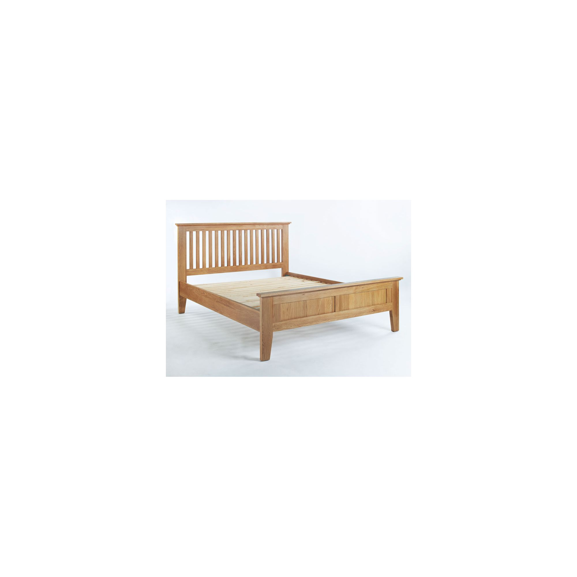 Ametis Sherwood Oak Bed Frame - King at Tesco Direct