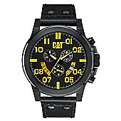 CAT Mens Leather Chronograph Date Watch PS.163.34.137
