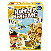 Disney Jake and The Neverland Pirates Number Navigate game