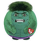 "Ty Marvel Hulk 8"" Beanie Ballz"