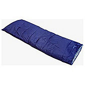 Confidence Camping Deluxe Sleeping Bag Navy Blue 200Gsm