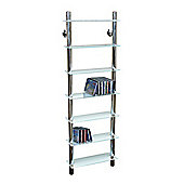 Matrix - Wall Mounted Glass Cd / Media / Storage Shelves - Clear