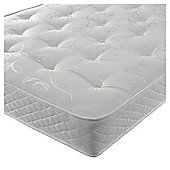 Silentnight Miracoil Tufted  Mattress - Single (3ft)