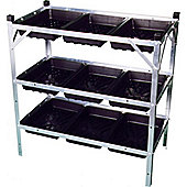 Junior Seed Tray Frame/Greenhouse staging Seed trays