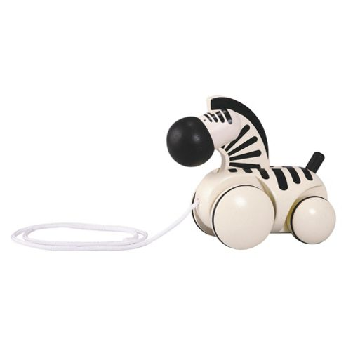 Plan Toys Pull Along Zebra ,wooden toy