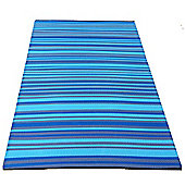 Green Decore Aqua Woven Rug - 180 cm x 120 cm (5 ft 10 in x 3 ft 10 in)