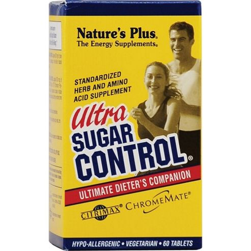 Natures Plus Ultra Sugar Control 60 Capsules