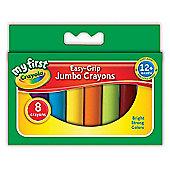 Crayola Easy-Grip 8 Jumbo Crayons