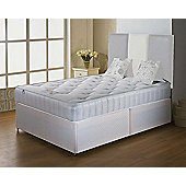 Luxan Classic Small Double Size Bed Set - No Headboard - 2 Drawers