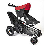 Micralite TwoFold Tandem Stroller with Second Seat (Red)