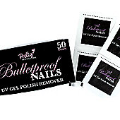 Pretty Professional Bulletproof Nails UV Gel Polish 50 Remover Wraps