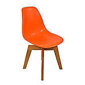 Eames Flow Dining Chair Orange