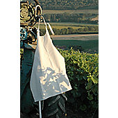 L'Atelier du Vin Storing White Canvas Apron