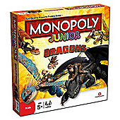 Monopoly Junior Dragons (How to Train your Dragon)