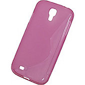Tortoise™ Soft Protective Case for Galaxy S4,supplied in Pink.