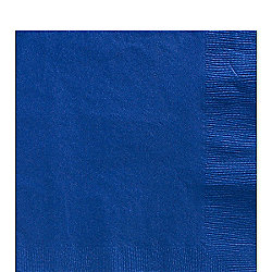 Royal Blue Luncheon Napkins - 3ply Paper