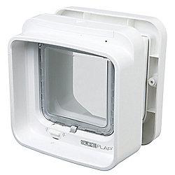 SureFlap DualScan Cat Flap - White Frame